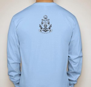 Anchor on Back of Shirt
