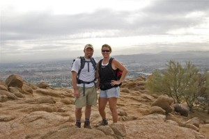 Hiking Camelback Mountain in Arizona