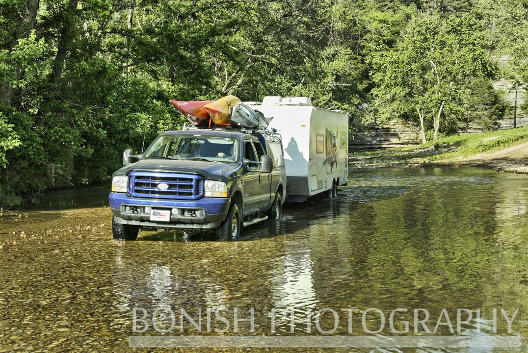 Only Way to Find a Good Camp Site - Arkansas - Photo by Cindy Bonish