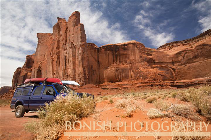 Scenic Backdrop of Monument Valley - Photo by Pat Bonish