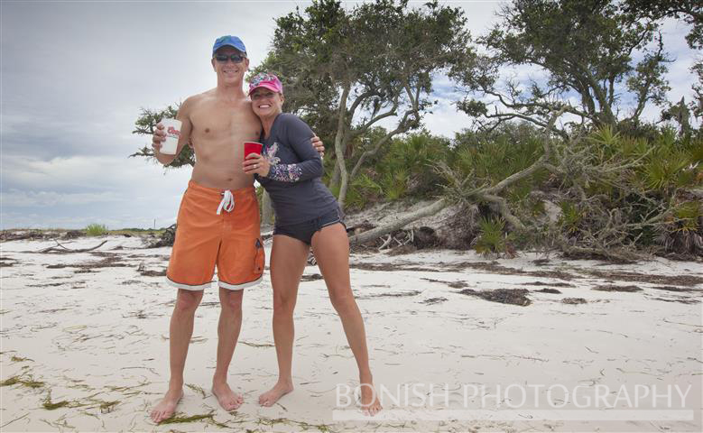 Ron and Cindy on North Key