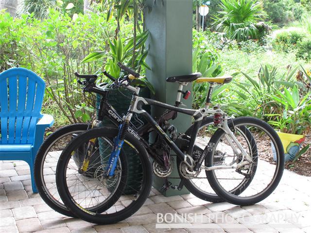 Mountain Bikes, Pat Bonish Photography, Patio