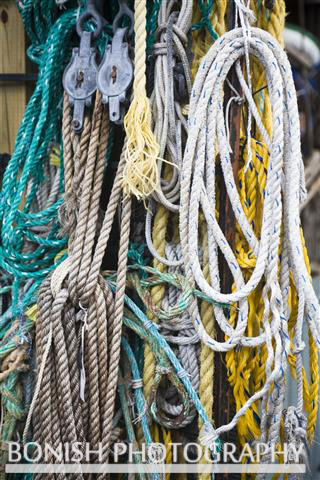 Bonish Photography, Rope, Vintage, Nautical