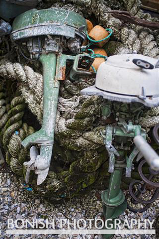 Bonish Photography, Outboard Motor, Nautical, Vintage