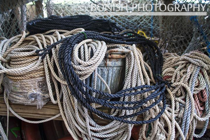 Bonish Photography, Rope, Nautical