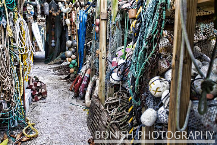 Bonish Photography, Nautical, Nets, Rope