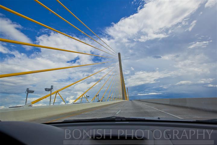 Skyway Bridge, Tampa, Traveling, Driving