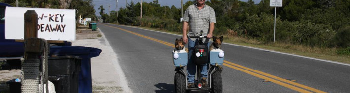 Segway, Dog Taxi, Bonish Photography