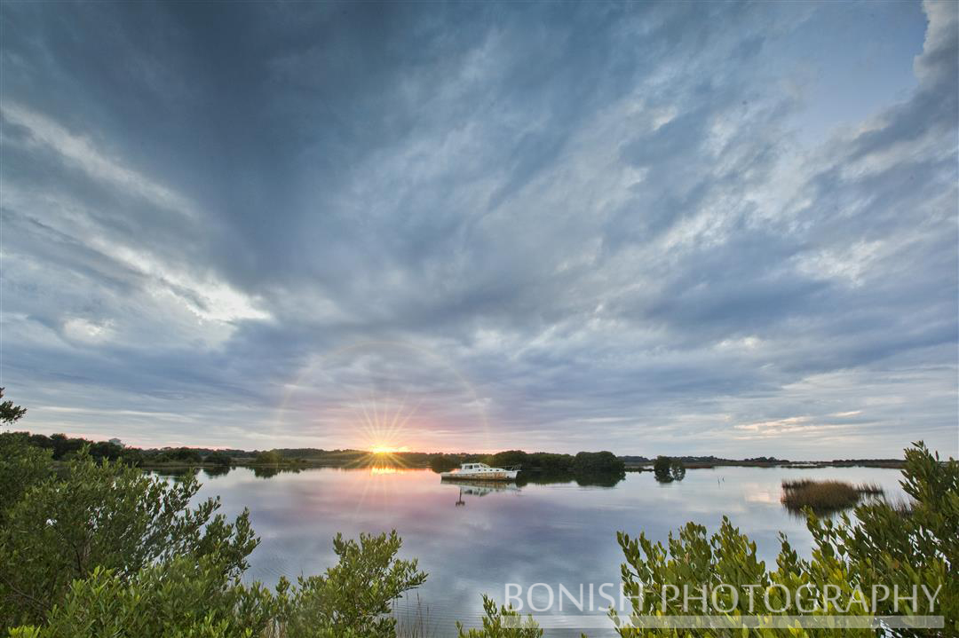 Bonish Photography, Sunset, Low-Key Hideaway, Cedar Key
