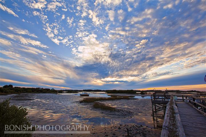 Lowkey Hideaway, Cedar Key, Sunset, Bonish photography