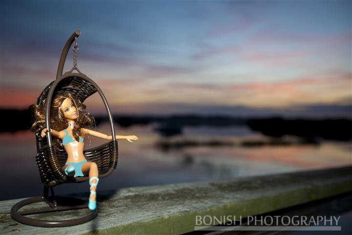 Barbie, Hanging Chair, Low-Key Hideaway, Cedar Key, Bonish Photography