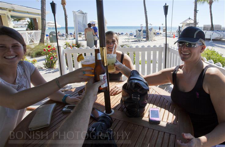 Southernmost Beach Bar, Key West, Toasting, Bonish Photography