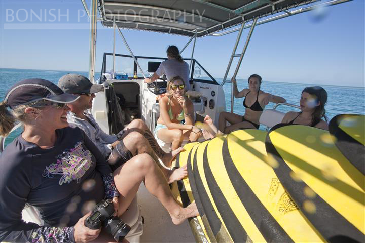 Hanging Out on Catamaran, Mellow Ventures, Key West, Bonish Photography