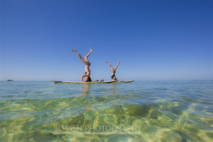SUP, SUP Yoga, Stand Up Paddle Boarding, Key west, Mellow Ventures, Bonish Photography