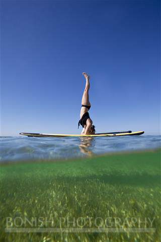 Jessie Zevalkink, SUP, Stand Up Paddle Boarding, Key West, Bonish Photography, SUP Yoga