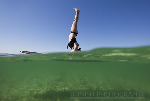 Jessie Zevalkink, SUP Yoga, Stand Up Paddle Boarding, Bonish Photography, Key West