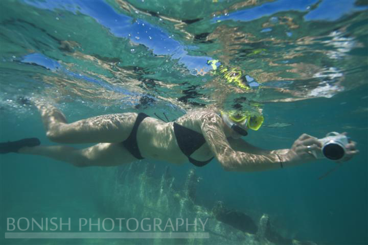 Jessie Zevalkink, Snorkeling, key West, Mellow ventures, Underwater Photography, Bonish Photography