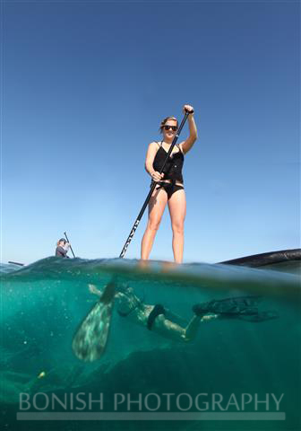 Jessie Zevalkink, Stand Up Paddle Boarding, Underwater Photography, Bonish Photography, Mellow Ventures, Key West