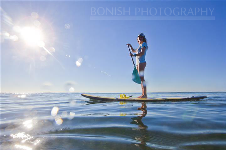 Katie Smith, SUP, Stand Up Paddle Boarding, Key West, Mellow Ventures, Bonish Photography