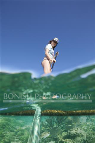 Katie Smith, Stand Up Paddle Boarding, Key West, Mellow Ventures, Bonish Photography, Underwater Photography