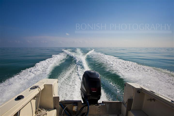Florida Keys, Boating, Wake, Bonish Photography