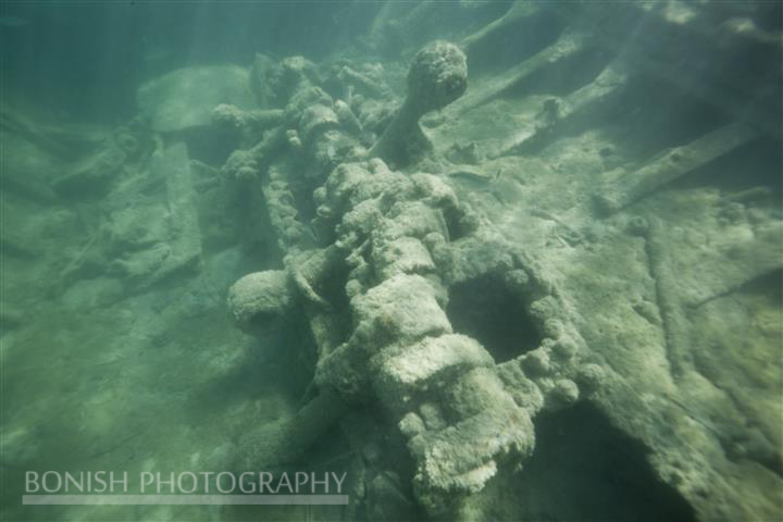 Sunken Ship, Key West, Bonish Photography, Underwater Photography, Mellow ventures