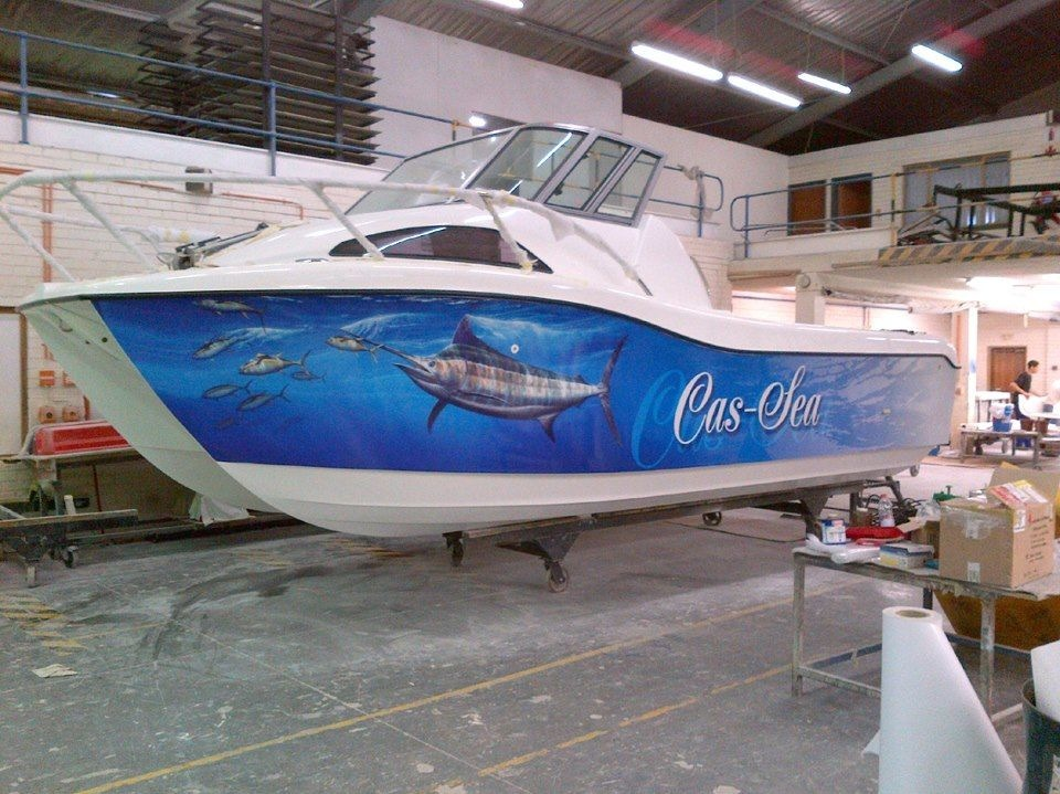 Catamaran, Custom Boat Wrap, Every Miles A Memory