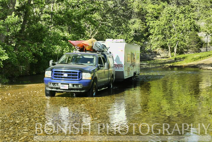 River Crossing, Travel Trailer, Every Miles A Memory, Bonish Photo