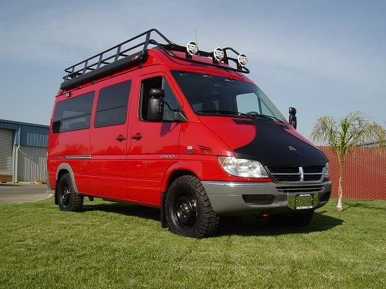 Sprinter Sportsmobile, Sprinter 4x4, Every Miles A Memory