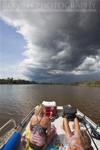 Boating on the Wacasassa River, Bikini, Florida, Bonish Photography