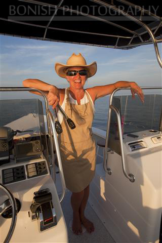 Boat Chef, Bonish Photography, Cindy Bonish