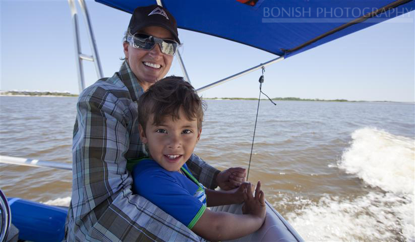 Cindy Bonish, Boating with Children, Bonish Photography
