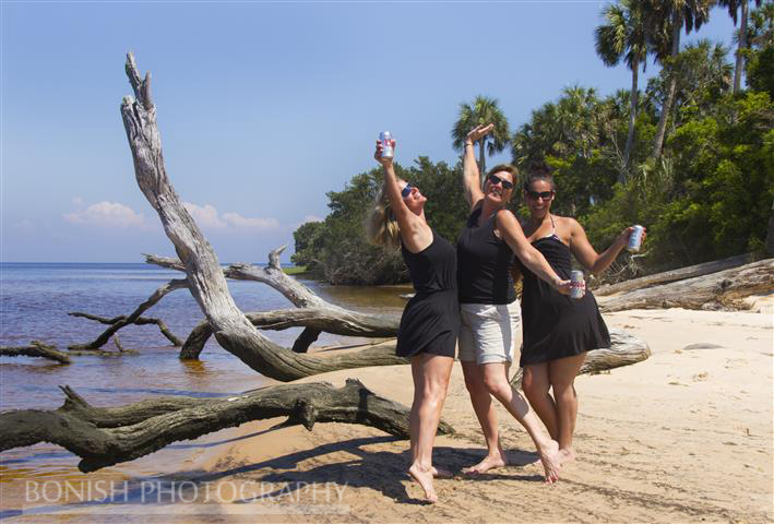 Tish Smigiel, Lauren Smigiel, Cindy Bonish, Cedar Key, Driftwood, Bonish Photography