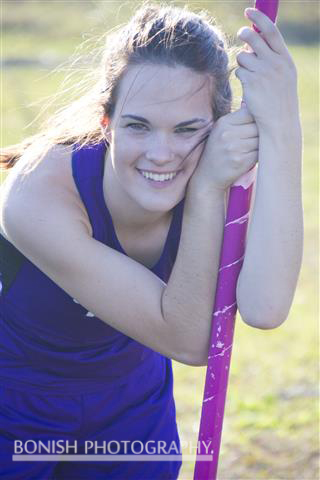 Lauren Bartholemy, Track Photos, Senior Photos, Bonish Photography