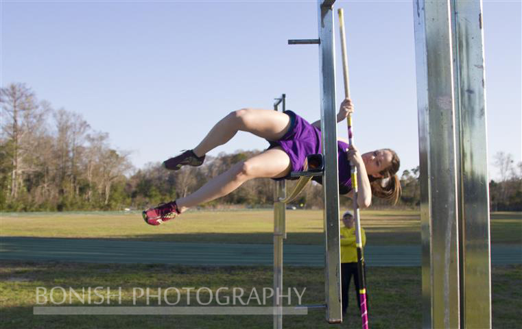 Lauren Bartholemy, High Jump, Pole Vault, Track Photography, Bonish Photography,