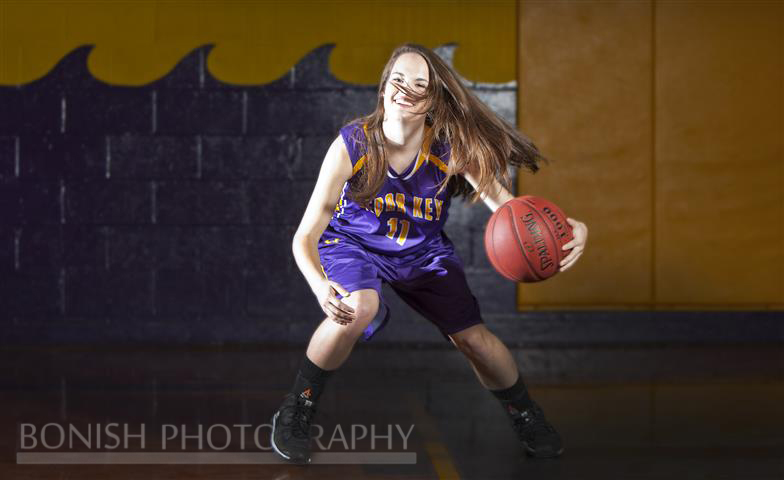 Lauren Bartholemy, Basketball Photography, Bonish Photography, Senior Photos