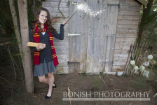Lauren Bartholemy, Senior Photos, Bonish Photography, Harry Potter