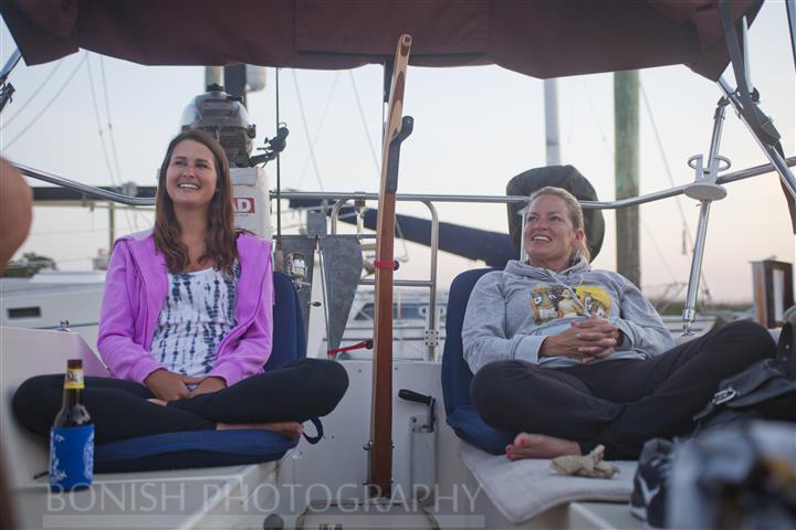 Cindy Bonish, Katie Smith, Sailboat, Bonish Photography