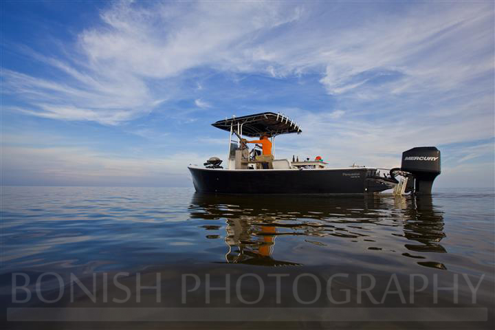 Morgan Boat, Bonish Photography, Boat Anchored