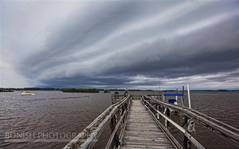 Storm Front, Bonish Photography, Cedar Key
