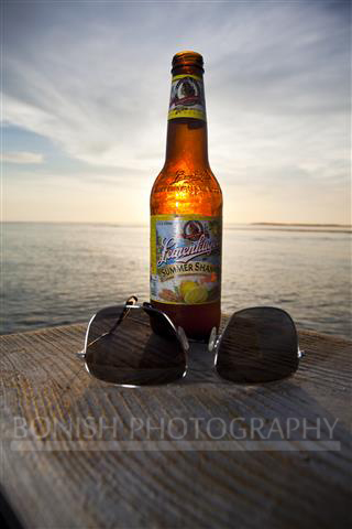 Summer Shandy, Leinenkugel, Bonish Photography, Sunset, Horizon