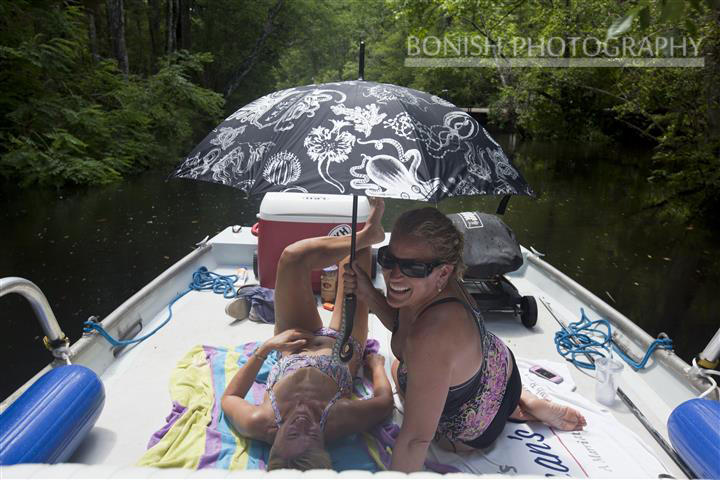 Umbrella, Boating, Bikini, Bonish Photography, Cindy Bonish