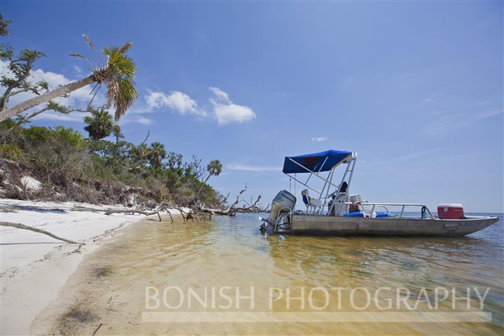 Boating, Beach, Gulf of Mexico, Honda 90hp