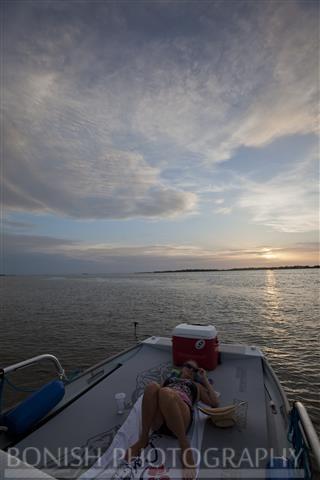 Boating, Cindy Bonish, Bonish Photography, Cedar Key, Sunset