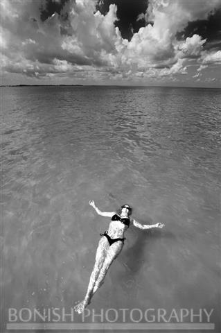 Cindy Bonish, Bikini, Floating, Bonish Photography