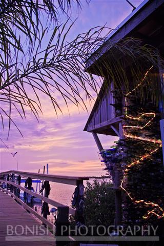 Sunset, Tiki Bar, Low-Key Hideaway, Bonish Photography, Cedar Key