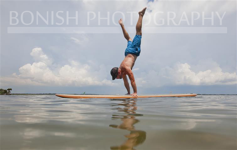 SUP Hand Stand, Paddle Board, Bonish Photography, Pat Bonish