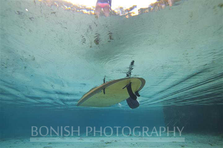 SUP, Stand Up Paddle Boarding, Underwater Photography, Bonish Photography