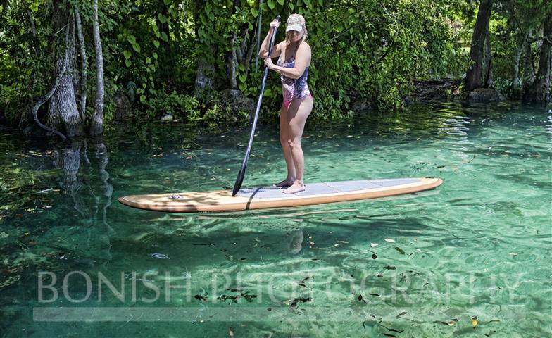 Paddle Boarding, Crystal River, SUP, Bonish Photography, Cindy Bonish