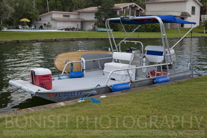 SUP Holder, Honey Badger, Boat, Bonish Photography